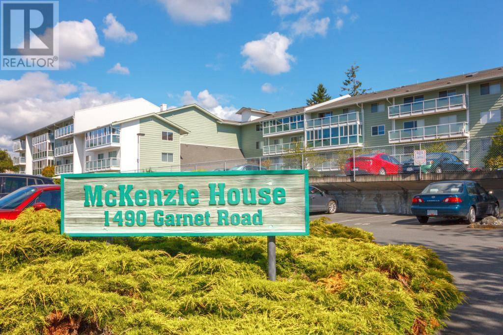 Condo for sale at 1490 Garnet Rd Unit 105 Victoria British Columbia - MLS: 419363