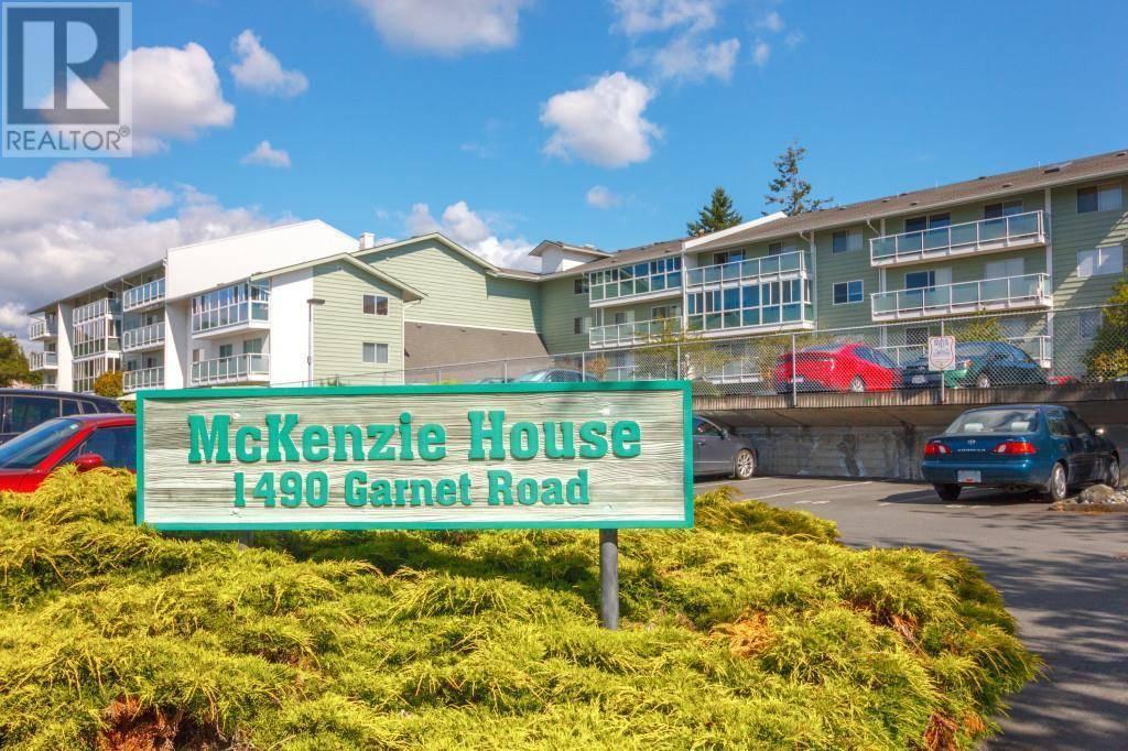 Condo for sale at 1490 Garnet Rd Unit 105 Victoria British Columbia - MLS: 419363