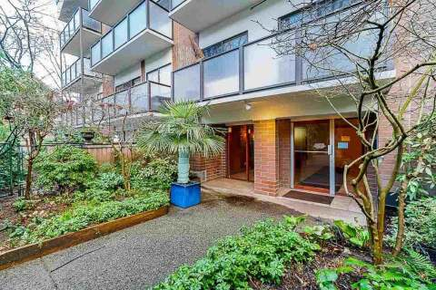 Condo for sale at 1535 Nelson St Unit 105 Vancouver British Columbia - MLS: R2460452