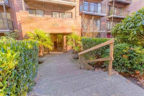 Condo for sale at 1655 Nelson St Unit 105 Vancouver British Columbia - MLS: R2406636