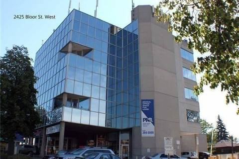 Commercial property for sale at 2425 Bloor St Unit 105 Toronto Ontario - MLS: W4703662