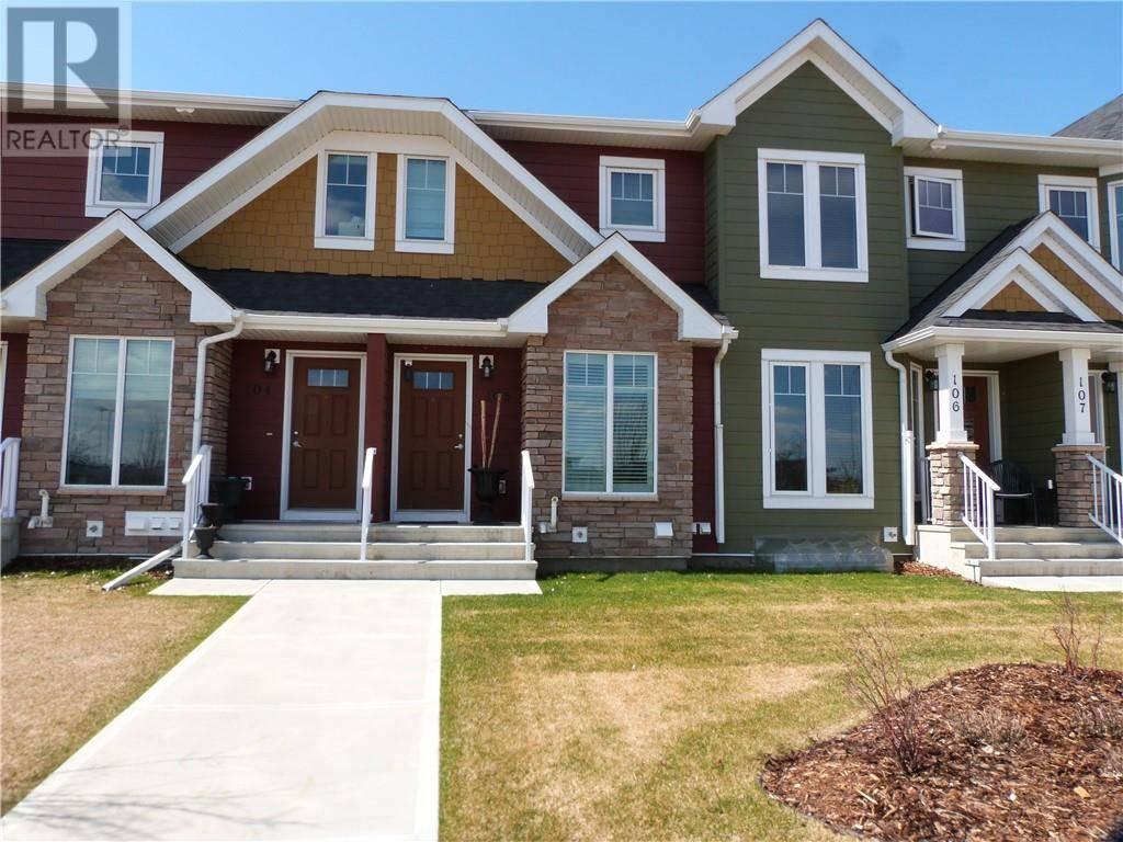 Townhouse for sale at 30 Carleton Ave Unit 105 Red Deer Alberta - MLS: ca0191020