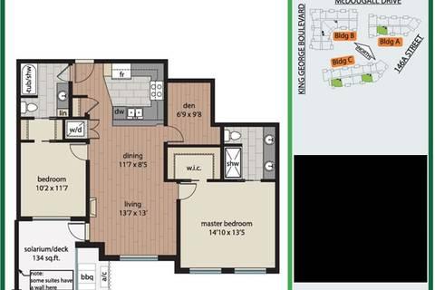 Condo for sale at 3535 146a St Unit 105 Surrey British Columbia - MLS: R2445873