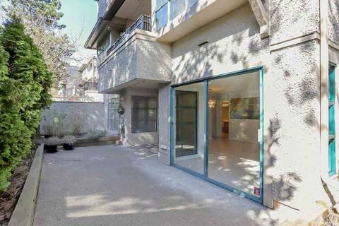 Condo for sale at 3788 8 Ave W Unit 105 Vancouver British Columbia - MLS: R2350569