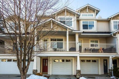 Townhouse for sale at 3825 Glen Canyon Dr Unit 105 West Kelowna British Columbia - MLS: 10199373