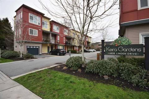 Townhouse for sale at 4808 Linden Dr Unit 105 Delta British Columbia - MLS: R2423756