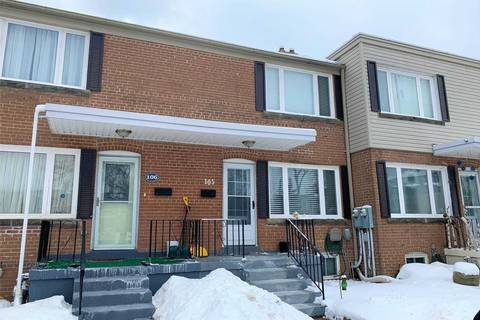 Townhouse for sale at 740 Kennedy Rd Unit 105 Toronto Ontario - MLS: E4716489
