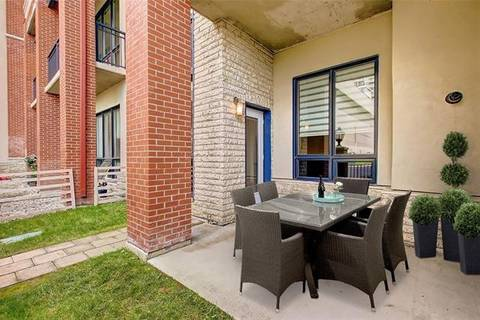 Condo for sale at 8880 Horton Rd Southwest Unit 105 Calgary Alberta - MLS: C4259531