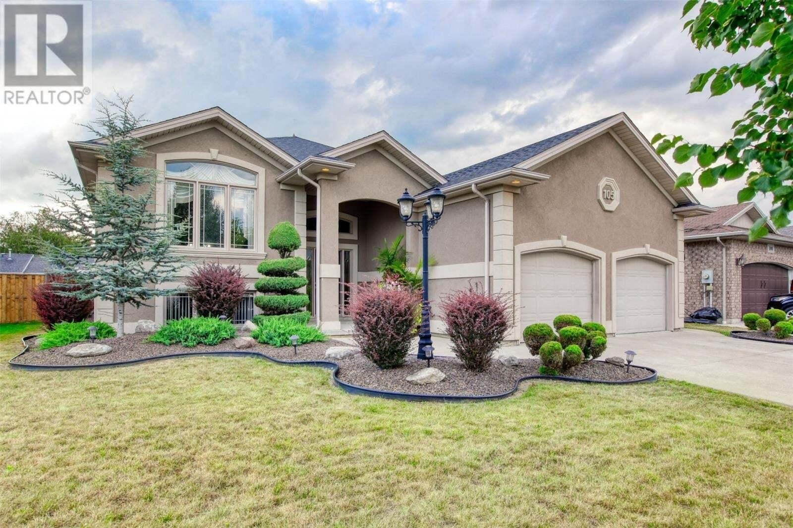 House for sale at 105 Antonio Cres Leamington Ontario - MLS: 20010193