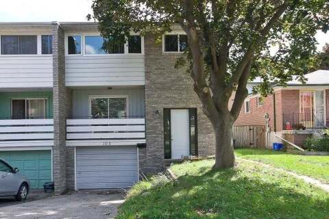 Townhouse for sale at 105 Crockamhill Dr Toronto Ontario - MLS: E4927554