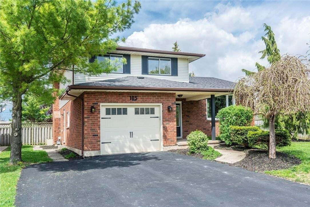 House for sale at 105 Edward Ct Smithville Ontario - MLS: H4078279