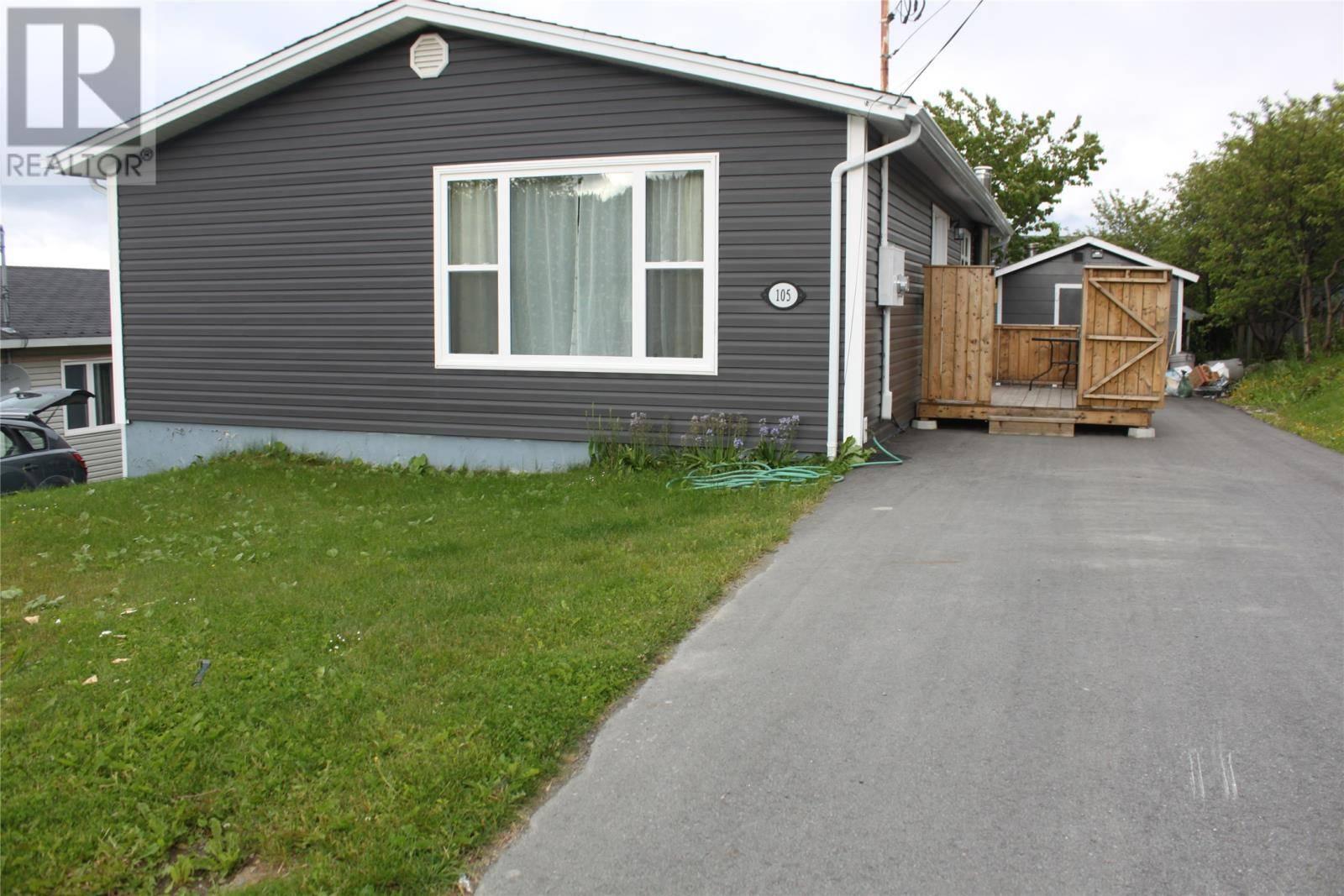 House for sale at 105 Elizabeth St Corner Brook Newfoundland - MLS: 1199143