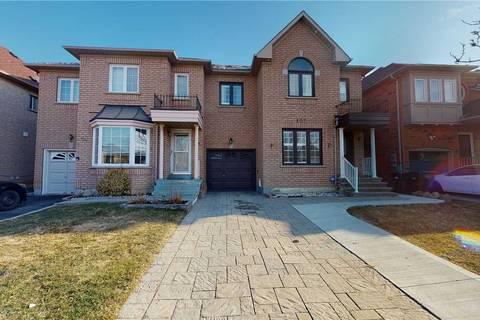 Townhouse for sale at 105 Giraffe Ave Brampton Ontario - MLS: W4728758