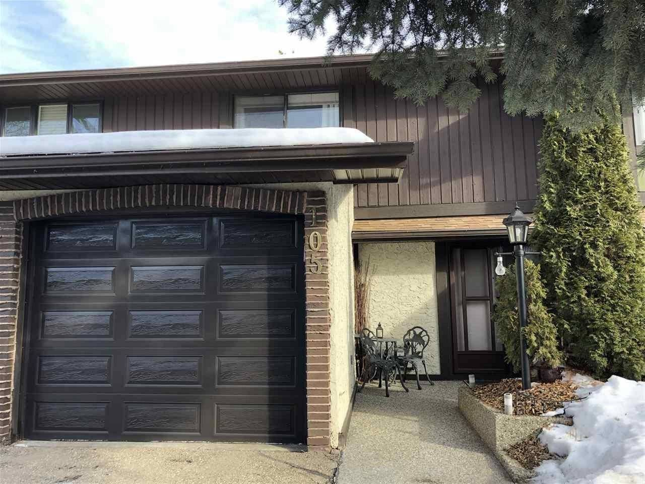 Townhouse for sale at 105 Hearthstone  Nw Edmonton Alberta - MLS: E4190362