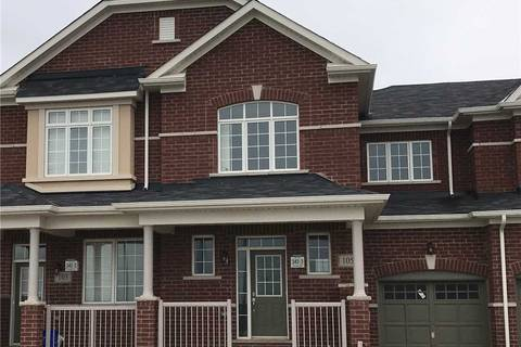 House for sale at 105 Holbrook Ct Milton Ontario - MLS: W4445312