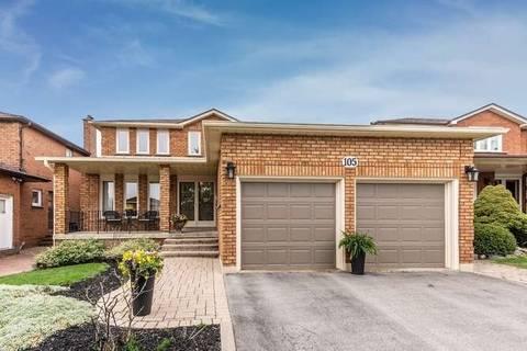 House for sale at 105 Jade Cres Vaughan Ontario - MLS: N4453545