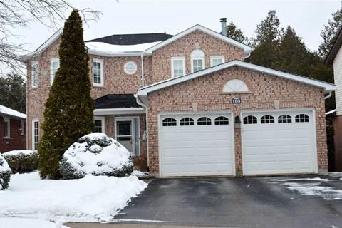 House for sale at 105 Jeffers Ct Orangeville Ontario - MLS: W4695926