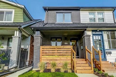 Townhouse for sale at 105 Kent Rd Toronto Ontario - MLS: E4952510