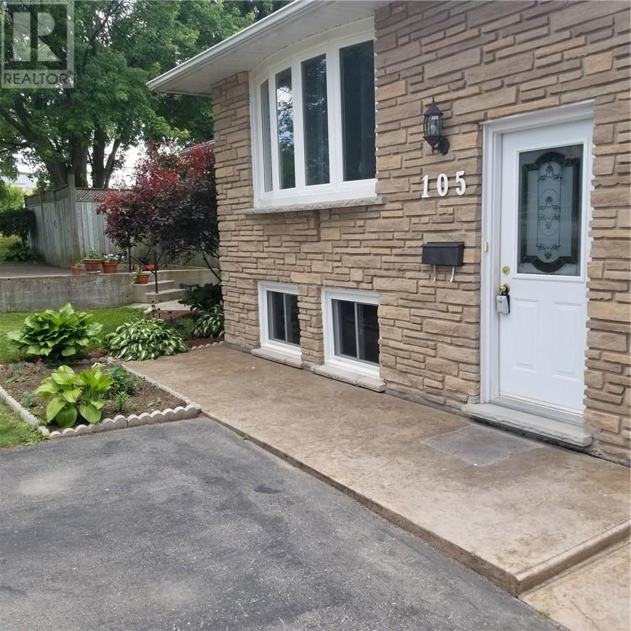 For Sale: 105 Lorraine Drive, Cambridge, ON | 4 Bed, 2 Bath House for $320,000. See 7 photos!