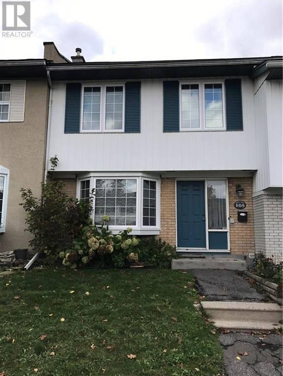 Townhouse for rent at 105 Monterey Dr Ottawa Ontario - MLS: 1178076