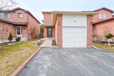 House for sale at 105 Muirland Cres Brampton Ontario - MLS: W4726489