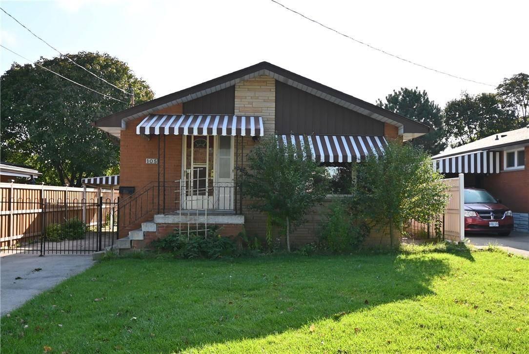 House for sale at 105 Ridge St Hamilton Ontario - MLS: H4065606