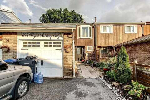 Townhouse for sale at 105 Royal Salisbury Wy Brampton Ontario - MLS: W4858848