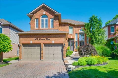 House for sale at 105 Ryans Wy Hamilton Ontario - MLS: X4520528