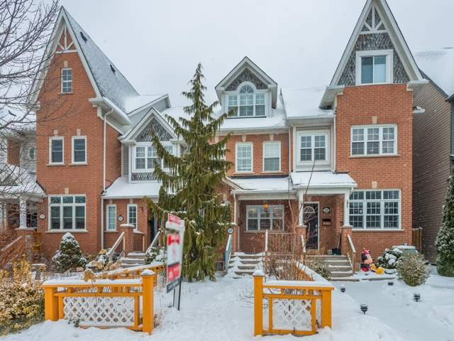 For Sale: 105 Sarah Ashbridge Avenue, Toronto, ON | 3 Bed, 4 Bath Townhouse for $1,399,000. See 20 photos!