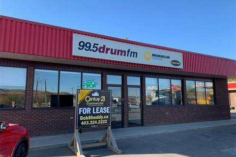 Commercial property for sale at 105 South Railway  Drumheller Alberta - MLS: C4277939