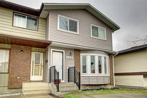 Townhouse for sale at 105 Whitewood Pl Northeast Calgary Alberta - MLS: C4243780