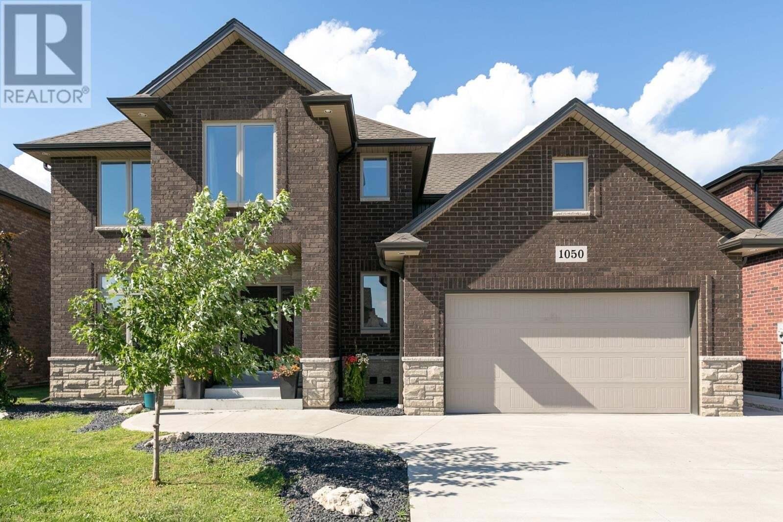 House for sale at 1050 Mancini  Lakeshore Ontario - MLS: 20009393