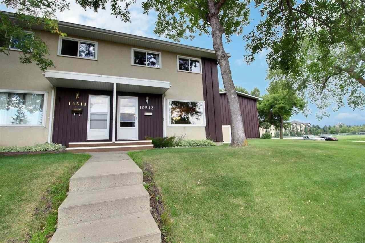 Townhouse for sale at 10513 58 Av NW Edmonton Alberta - MLS: E4208889