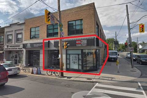 Commercial property for lease at 1052 Kingston Rd Toronto Ontario - MLS: E4735398
