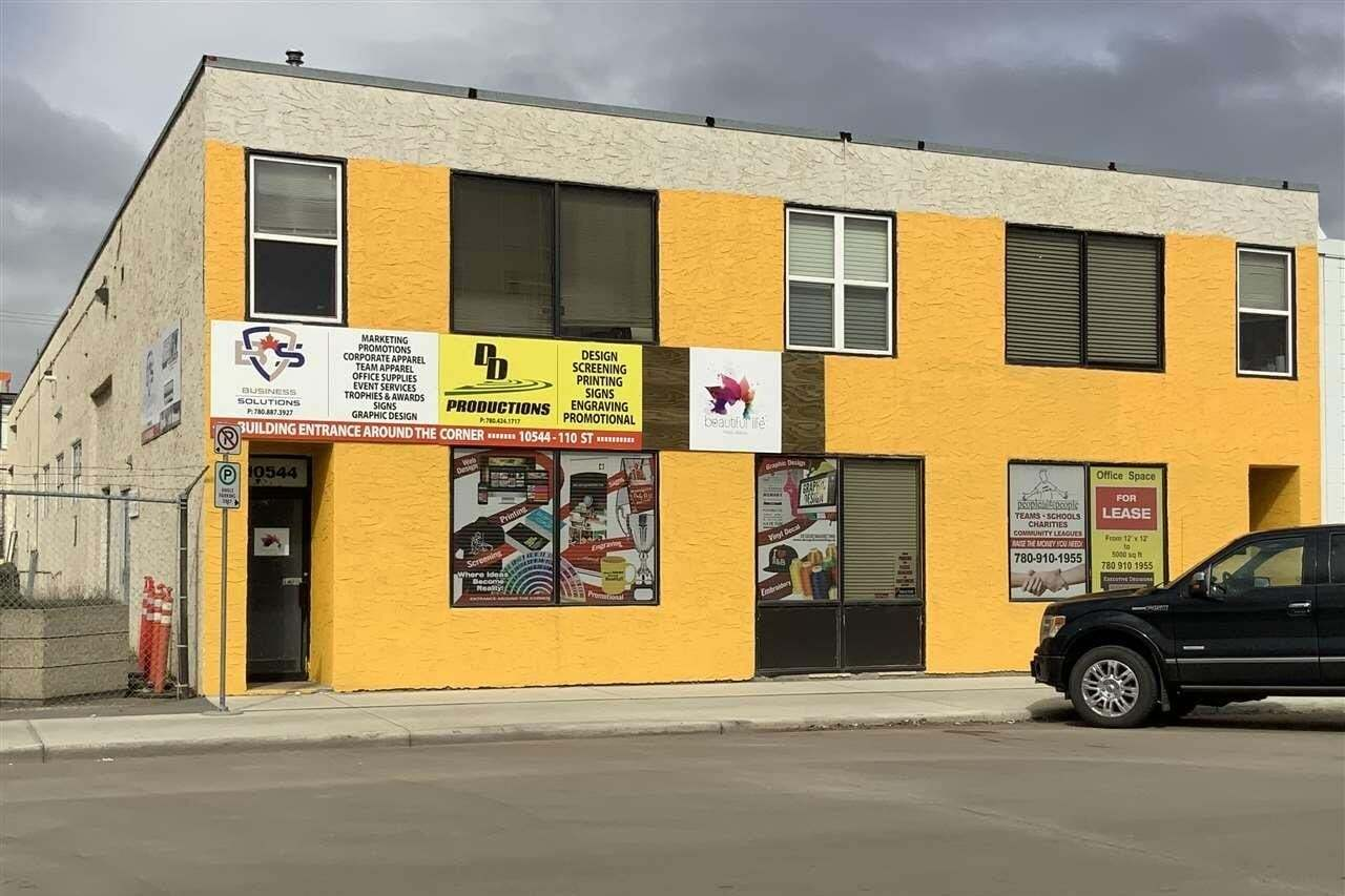 Commercial property for sale at 10544 110 St NW Edmonton Alberta - MLS: E4197398