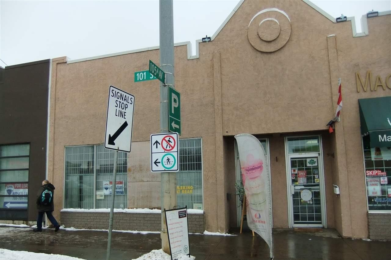 Commercial property for sale at 10546 101 St NW Edmonton Alberta - MLS: E4179687