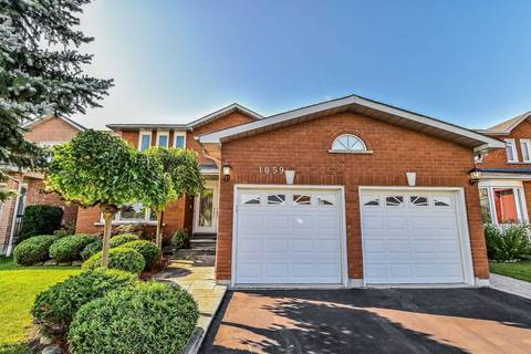 House for sale at 1059 White Clover Wy Mississauga Ontario - MLS: W4584422