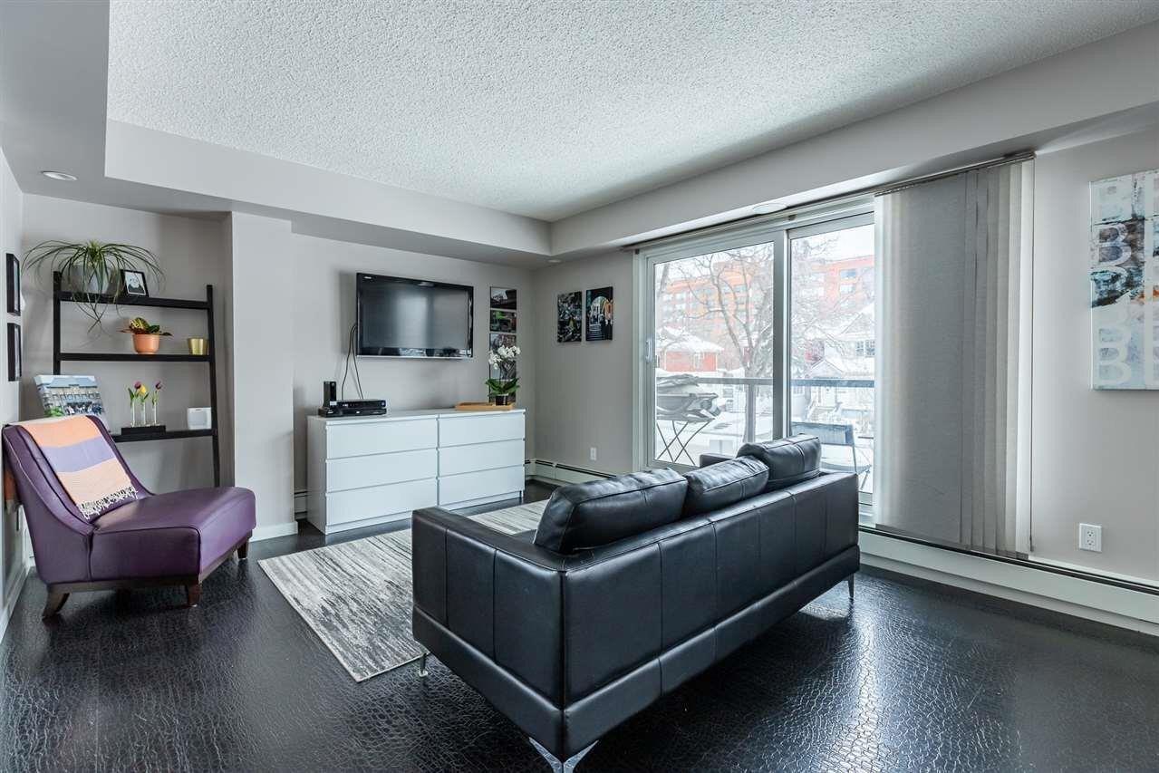 Condo for sale at 10140 115 St NW Unit 106 Edmonton Alberta - MLS: E4225054