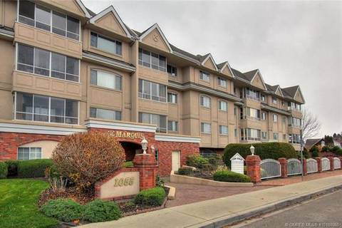 Condo for sale at 1055 Lawrence Ave Unit 106 Kelowna British Columbia - MLS: 10181660
