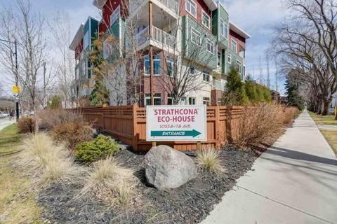 Condo for sale at 10558 78 Ave Nw Unit 106 Edmonton Alberta - MLS: E4153264