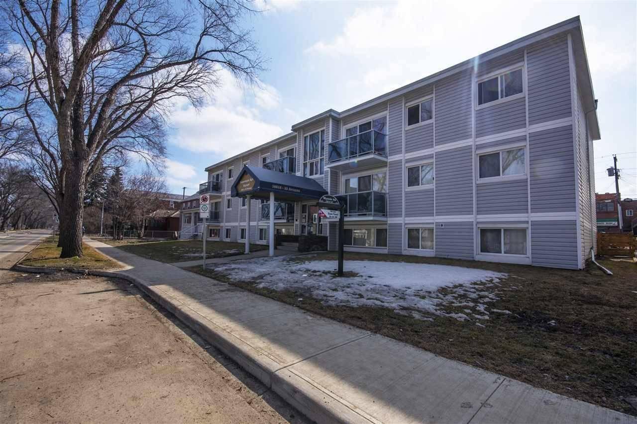 Condo for sale at 10815 83 Ave Nw Unit 106 Edmonton Alberta - MLS: E4169348