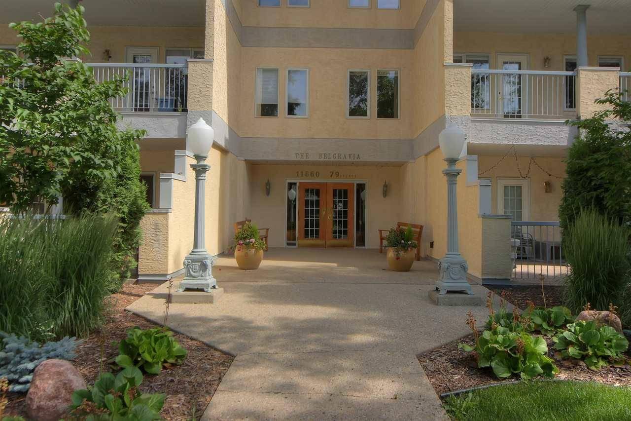 Condo for sale at 11660 79 Ave Nw Unit 106 Edmonton Alberta - MLS: E4164299