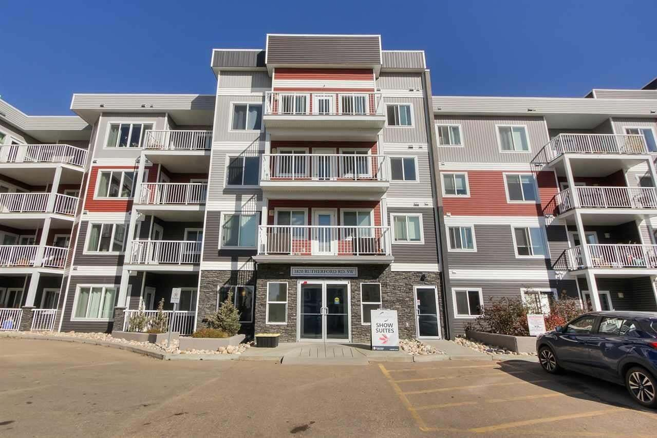 Condo for sale at 1820 Rutherford Rd SW Unit 106 Edmonton Alberta - MLS: E4216080