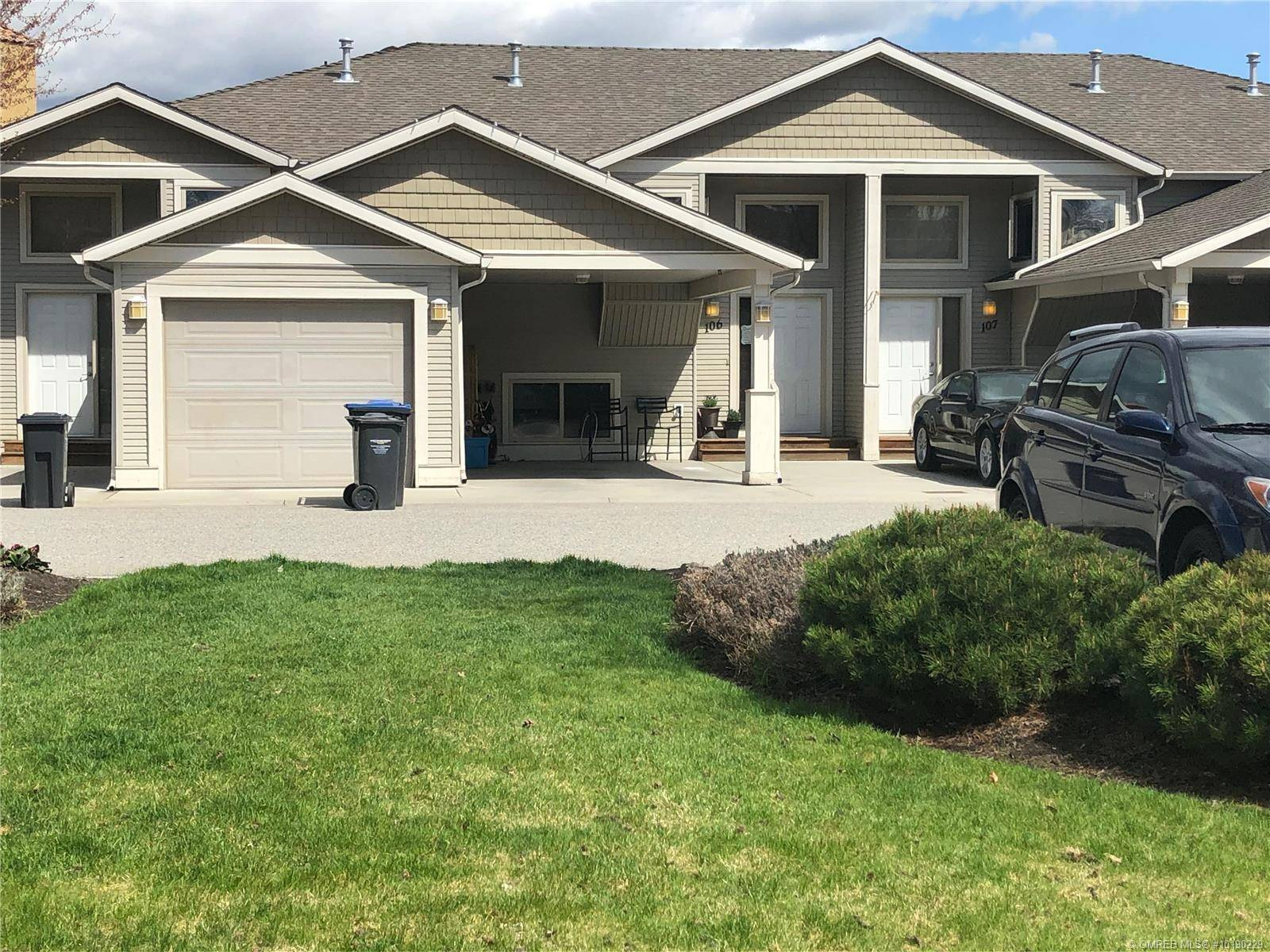 Townhouse for sale at 245 Snowsell St Unit 106 Kelowna British Columbia - MLS: 10190229