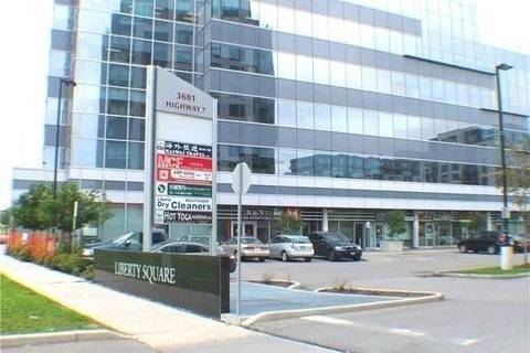 Commercial property for lease at 3603 Highway 7 Ave Apartment 106 Markham Ontario - MLS: N4633506