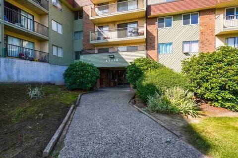 Condo for sale at 45598 Mcintosh Dr Unit 106 Chilliwack British Columbia - MLS: R2426818