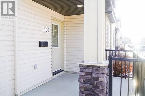 Townhouse for sale at 5051 James Hill Rd Unit 106 Regina Saskatchewan - MLS: SK796819