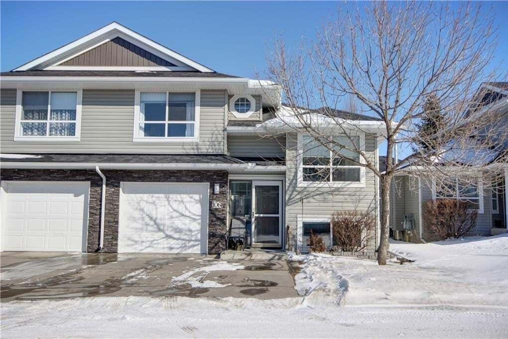 Townhouse for sale at 55 Fairways Dr NW Unit 106 Fairways, Airdrie Alberta - MLS: C4291570