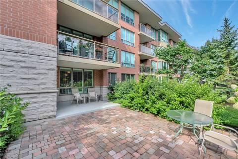 Condo for sale at 55 The Boardwalk Wy Unit 106 Markham Ontario - MLS: N4493928