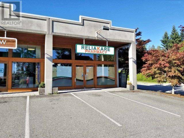 Commercial property for sale at 7075 Alberni St Unit 106 Powell River British Columbia - MLS: 14639